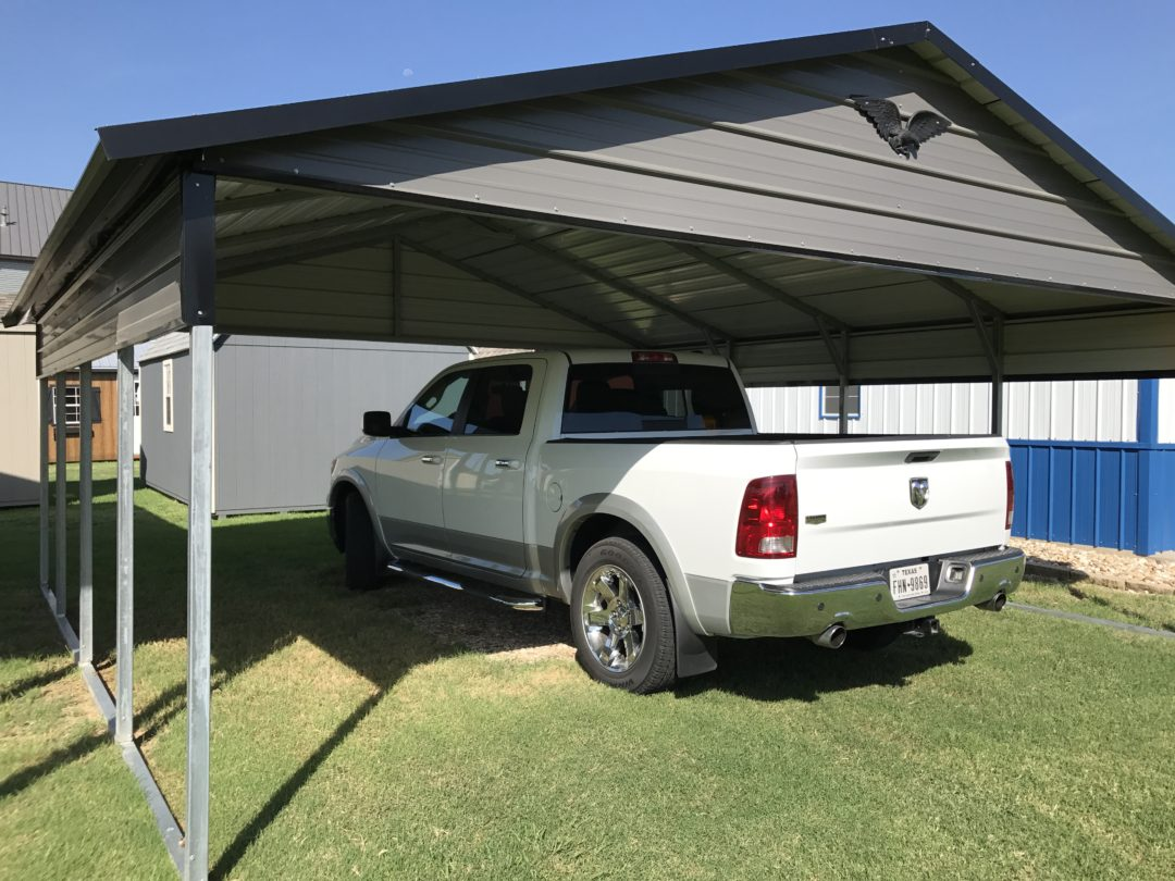 20×21 Boxed Eave Style Carport