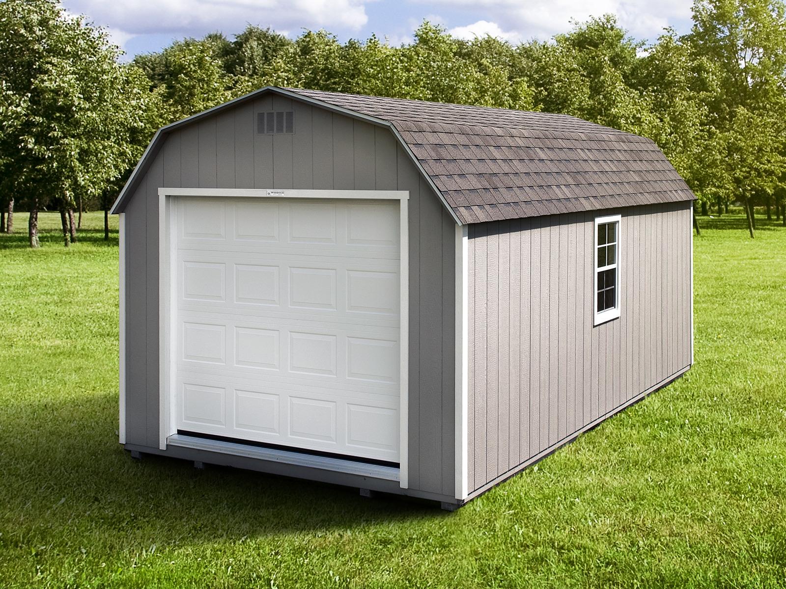 Gambrel Storage Shed