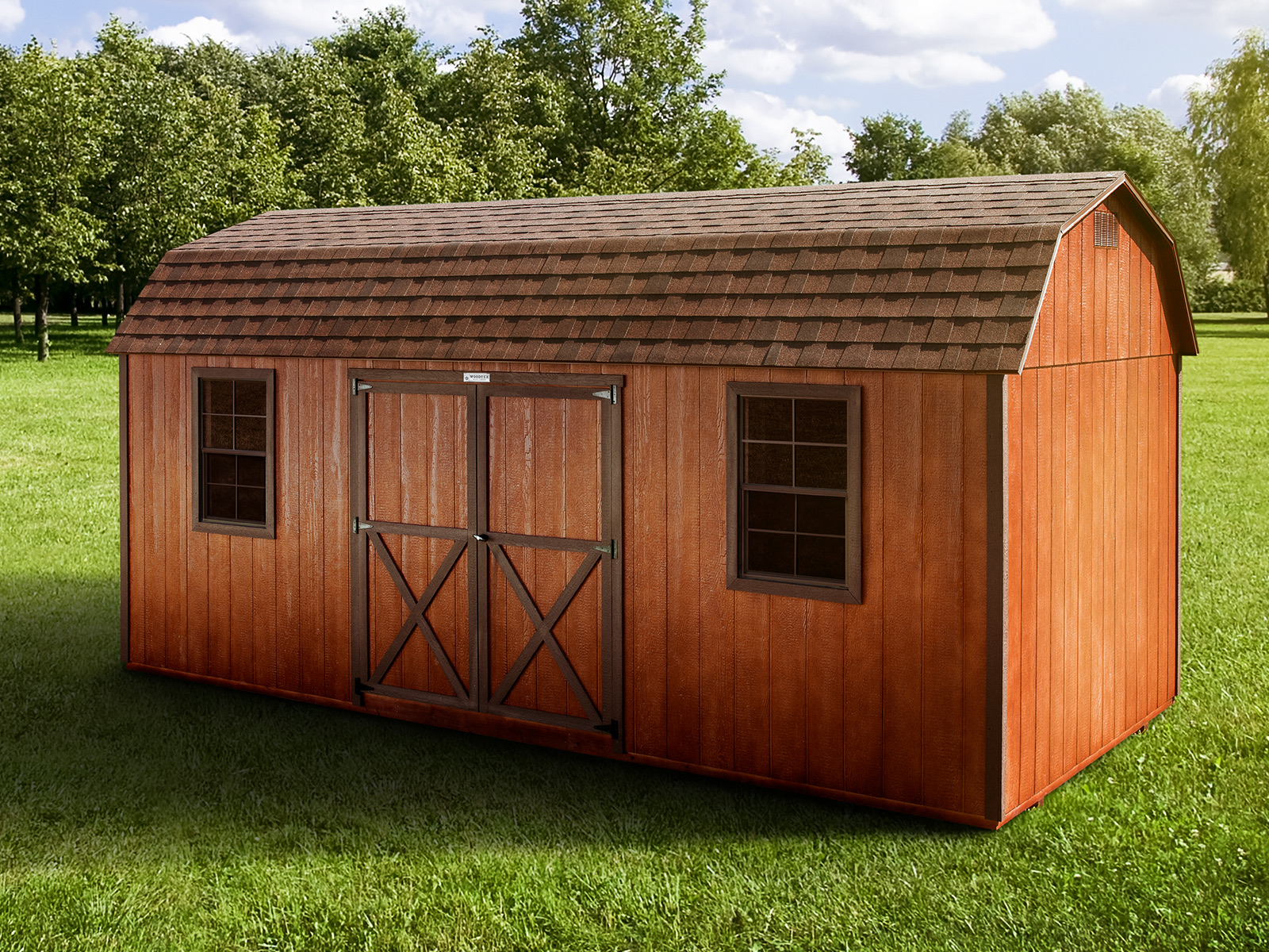 The Lincoln – Woodtex Storage Shed