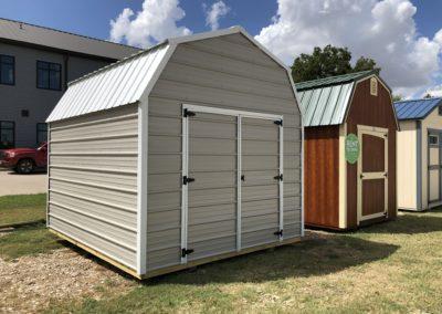10 X 12 Metal Lofted Barn