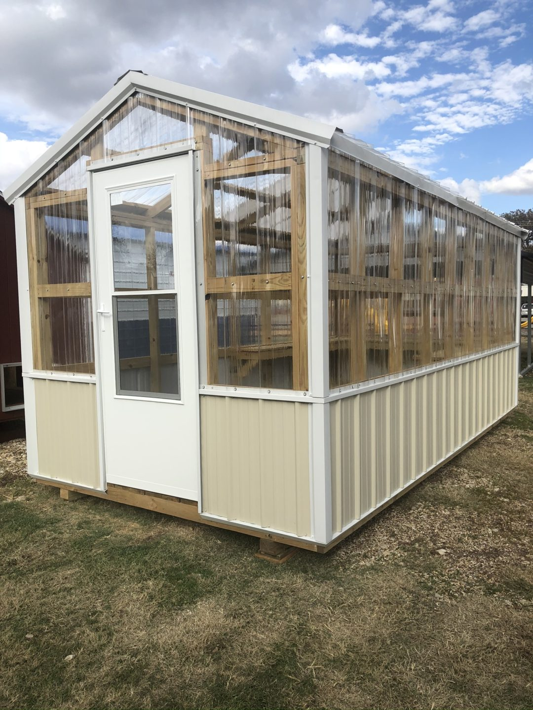 8 X 16 A Frame Greenhouse