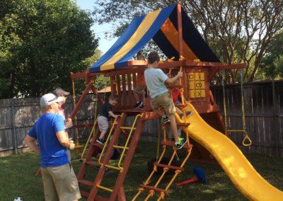 Farm-and-yard-tx-parrot-island-playground-customer-swingset-1