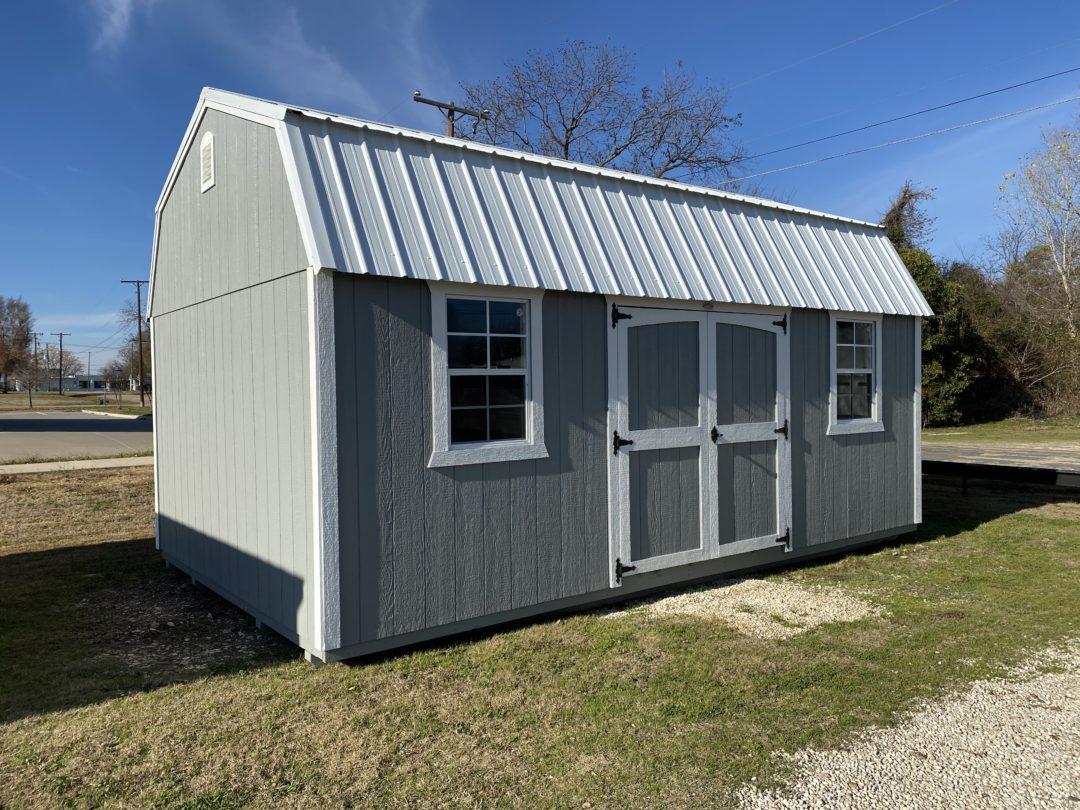 12 X 20 Side Lofted Barn
