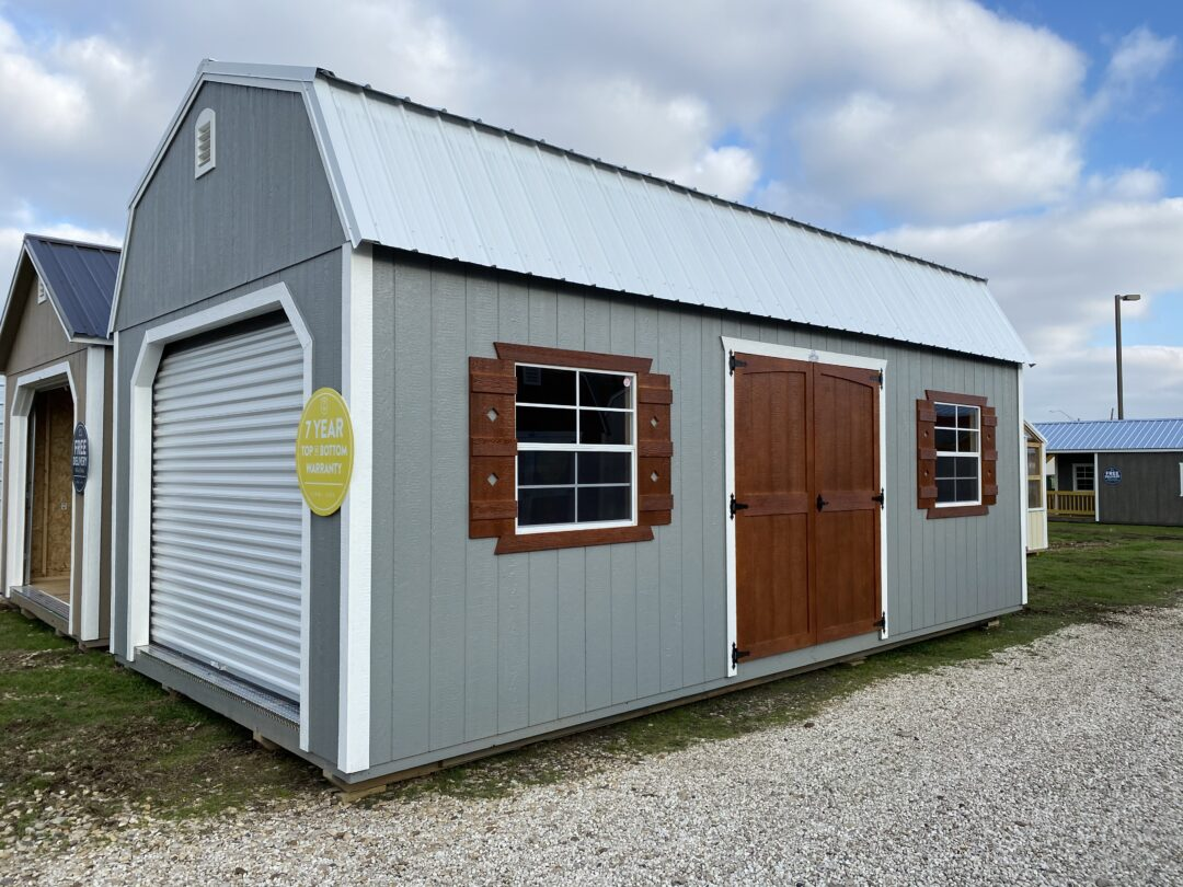 12 X 24 Side Loft Barn