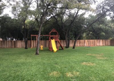 farm-and-yard-central-texas-bengal-fort-config-2-wood-roof-playset-customer-1