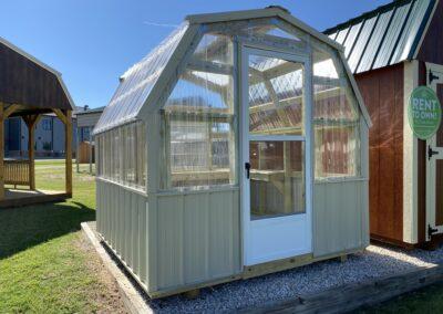 8 X 8 Gambrel Greenhouse