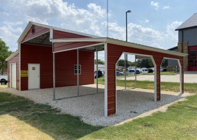 42 X 25  Eagle Horse Barn