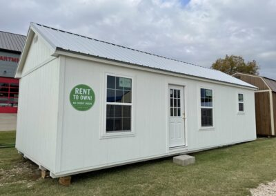 14 X 32 Chalet DIY Shed Home