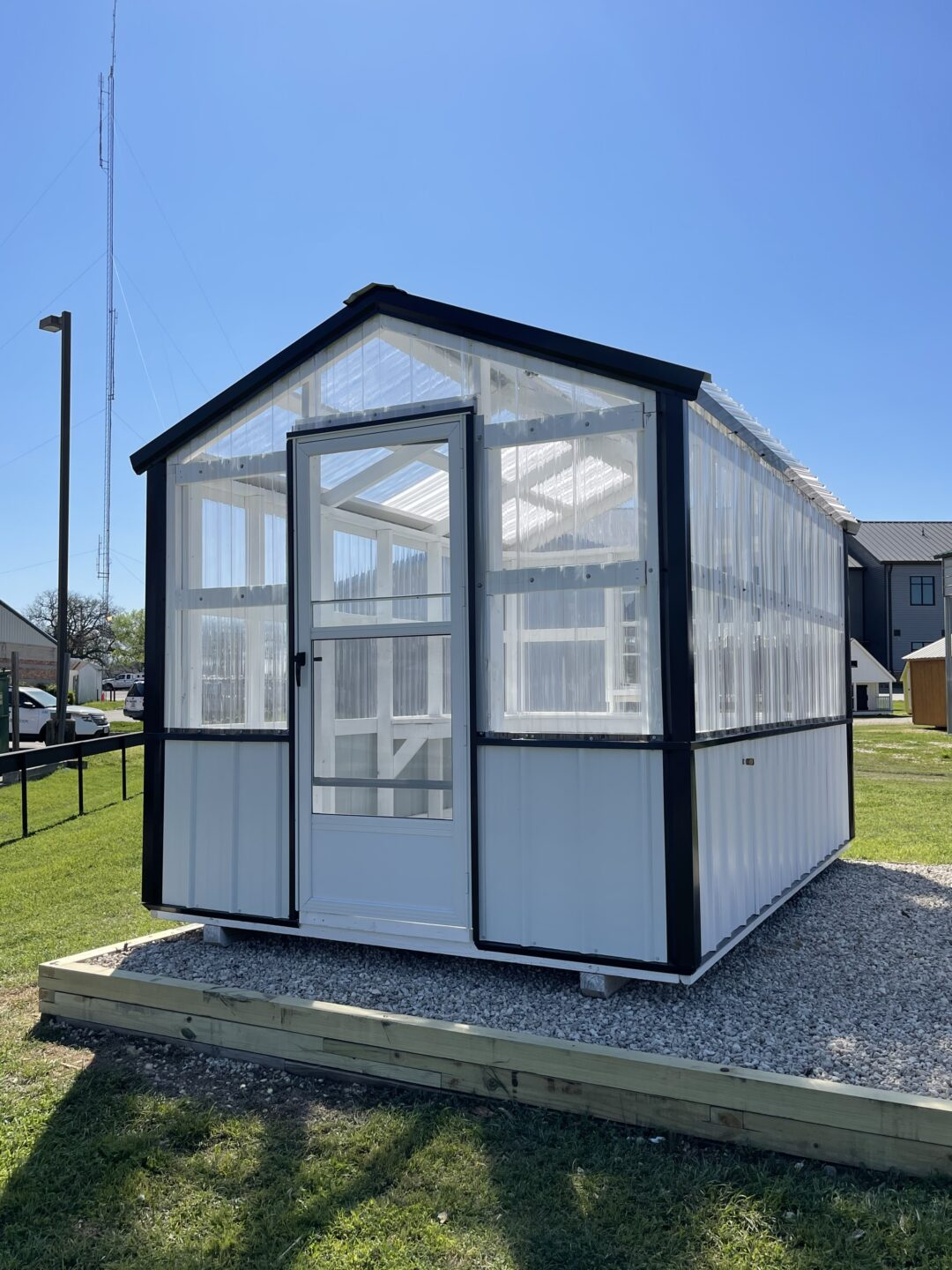8 X 12 A Frame Style Greenhouse