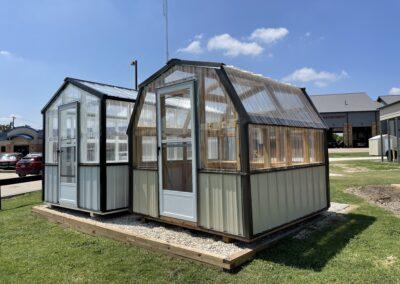 8X8 Gambrel Greenhouse