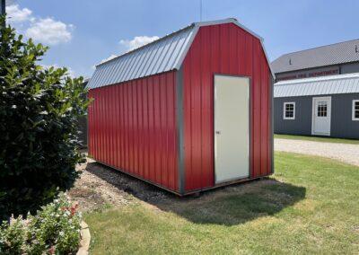 8 X 16 Metal Lofted Barn